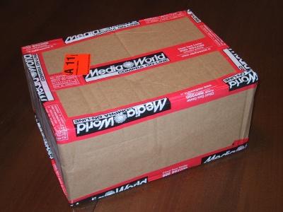 Il pacco da Mediaworld