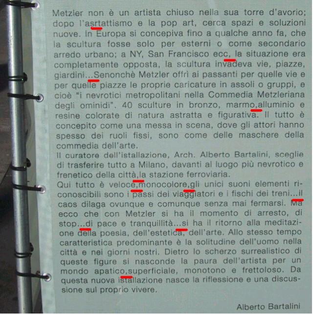 Nevrotici Metropolitani - Alberto Bartalini