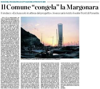 Il Secolo XIX - Progetto Margonara escluso dal PPA