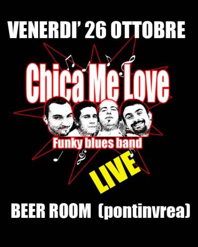 Chica Me Love al Beer Room (Pontinvrea - SV)