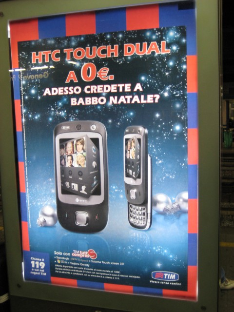 HTC Touch a 0 euro