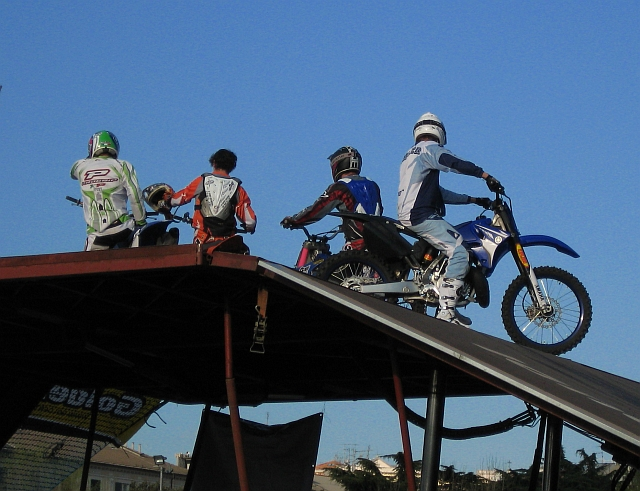 I riders di FMX Show Savona 2008