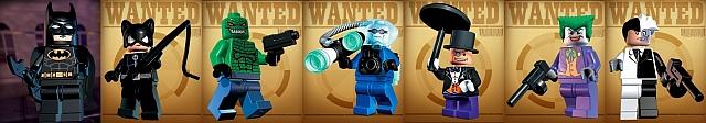 I personaggi di Lego Batman