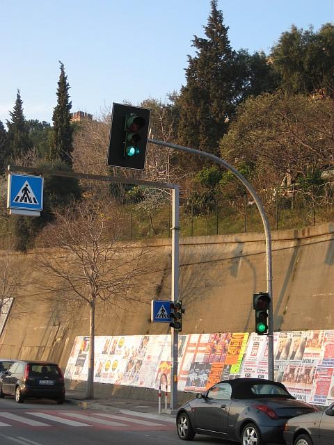Semaforo Pedonale Via Vittime di Brescia