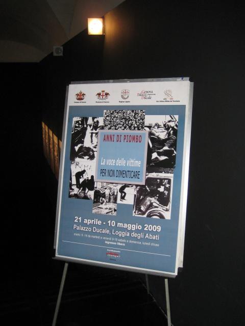 Manifesto Anni di Piombo