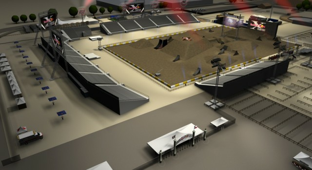 Texas X-fighters track